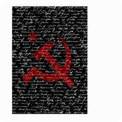 Communism  Large Garden Flag (two Sides) by Valentinaart