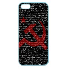 Communism  Apple Seamless Iphone 5 Case (color) by Valentinaart