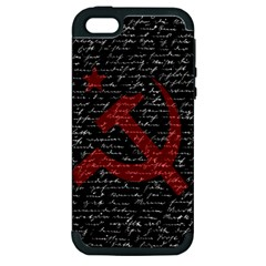 Communism  Apple Iphone 5 Hardshell Case (pc+silicone) by Valentinaart