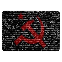 Communism  Samsung Galaxy Tab 8 9  P7300 Flip Case by Valentinaart