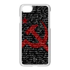 Communism  Apple Iphone 7 Seamless Case (white) by Valentinaart