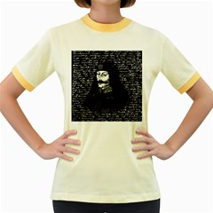 Count Vlad Dracula Women s Fitted Ringer T Shirts by Valentinaart