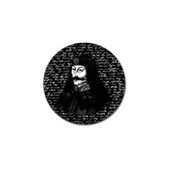 Count Vlad Dracula Golf Ball Marker by Valentinaart