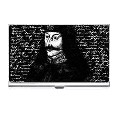 Count Vlad Dracula Business Card Holders by Valentinaart