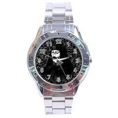 Count Vlad Dracula Stainless Steel Analogue Watch by Valentinaart