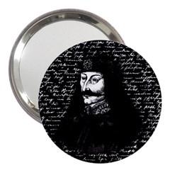 Count Vlad Dracula 3  Handbag Mirrors by Valentinaart