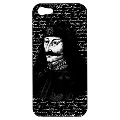 Count Vlad Dracula Apple Iphone 5 Hardshell Case by Valentinaart