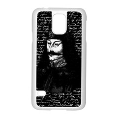 Count Vlad Dracula Samsung Galaxy S5 Case (white) by Valentinaart