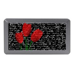 Red Tulips Memory Card Reader (mini) by Valentinaart