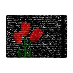 Red Tulips Apple Ipad Mini Flip Case by Valentinaart