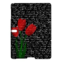 Red Tulips Samsung Galaxy Tab S (10 5 ) Hardshell Case  by Valentinaart