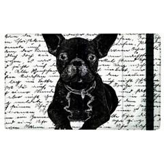 Cute Bulldog Apple Ipad 2 Flip Case by Valentinaart