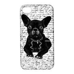 Cute Bulldog Apple Iphone 4/4s Hardshell Case With Stand by Valentinaart