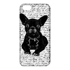 Cute Bulldog Apple Iphone 5c Hardshell Case by Valentinaart