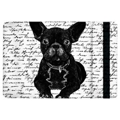 Cute Bulldog Ipad Air 2 Flip by Valentinaart