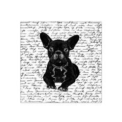 Cute Bulldog Satin Bandana Scarf by Valentinaart