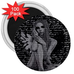 Angel 3  Magnets (100 Pack) by Valentinaart