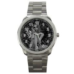 Angel Sport Metal Watch by Valentinaart
