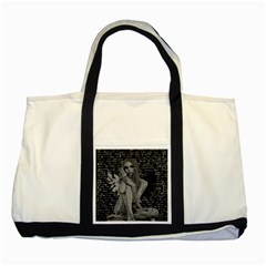 Angel Two Tone Tote Bag by Valentinaart