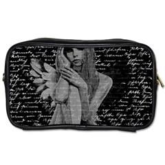 Angel Toiletries Bags by Valentinaart