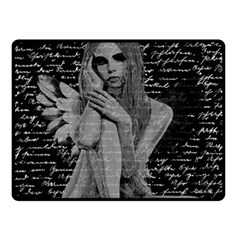 Angel Fleece Blanket (small) by Valentinaart