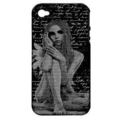 Angel Apple Iphone 4/4s Hardshell Case (pc+silicone) by Valentinaart
