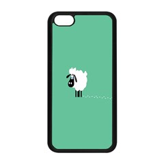 Sheep Trails Curly Minimalism Apple Iphone 5c Seamless Case (black) by Simbadda