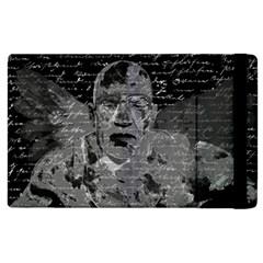 Angel  Apple Ipad 2 Flip Case by Valentinaart