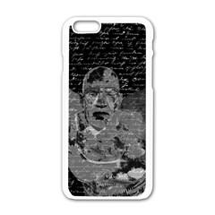 Angel  Apple Iphone 6/6s White Enamel Case by Valentinaart