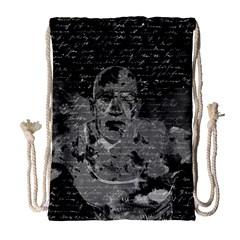 Angel  Drawstring Bag (large) by Valentinaart
