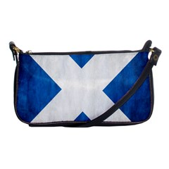 Scotland Flag Surface Texture Color Symbolism Shoulder Clutch Bags by Simbadda