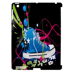 Sneakers Shoes Patterns Bright Apple Ipad 3/4 Hardshell Case (compatible With Smart Cover) by Simbadda