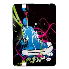 Sneakers Shoes Patterns Bright Kindle Fire Hd 8 9  by Simbadda
