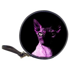 Pink Sphynx Cat Classic 20 Cd Wallets by Valentinaart
