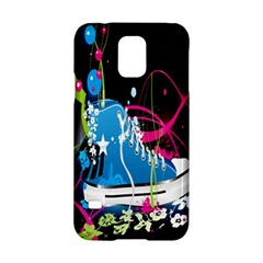 Sneakers Shoes Patterns Bright Samsung Galaxy S5 Hardshell Case  by Simbadda