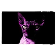 Pink Sphynx Cat Apple Ipad 3/4 Flip Case by Valentinaart