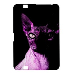 Pink Sphynx Cat Kindle Fire Hd 8 9  by Valentinaart