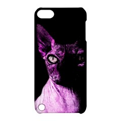 Pink Sphynx Cat Apple Ipod Touch 5 Hardshell Case With Stand by Valentinaart