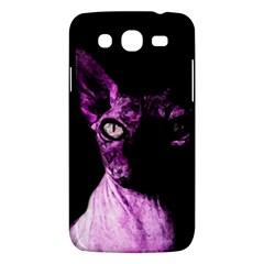 Pink Sphynx Cat Samsung Galaxy Mega 5 8 I9152 Hardshell Case  by Valentinaart