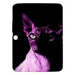 Pink Sphynx Cat Samsung Galaxy Tab 3 (10 1 ) P5200 Hardshell Case  by Valentinaart