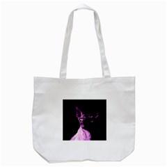 Pink Sphynx Cat Tote Bag (white) by Valentinaart