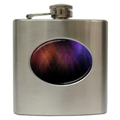 Point Light Luster Surface Hip Flask (6 Oz) by Simbadda