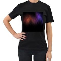Point Light Luster Surface Women s T Shirt (black) by Simbadda