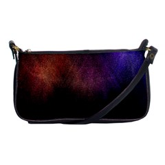 Point Light Luster Surface Shoulder Clutch Bags by Simbadda