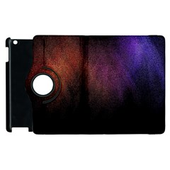 Point Light Luster Surface Apple Ipad 2 Flip 360 Case by Simbadda