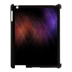 Point Light Luster Surface Apple Ipad 3/4 Case (black) by Simbadda