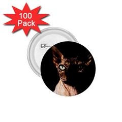 Sphynx Cat 1 75  Buttons (100 Pack)  by Valentinaart