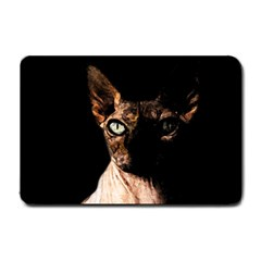 Sphynx Cat Small Doormat  by Valentinaart