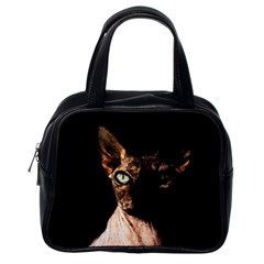 Sphynx Cat Classic Handbags (one Side) by Valentinaart