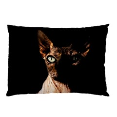 Sphynx Cat Pillow Case (two Sides) by Valentinaart